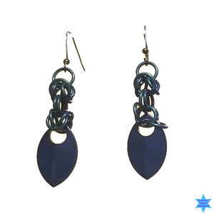 Mini Scales and Chains Earrings - Strange Things Emporium