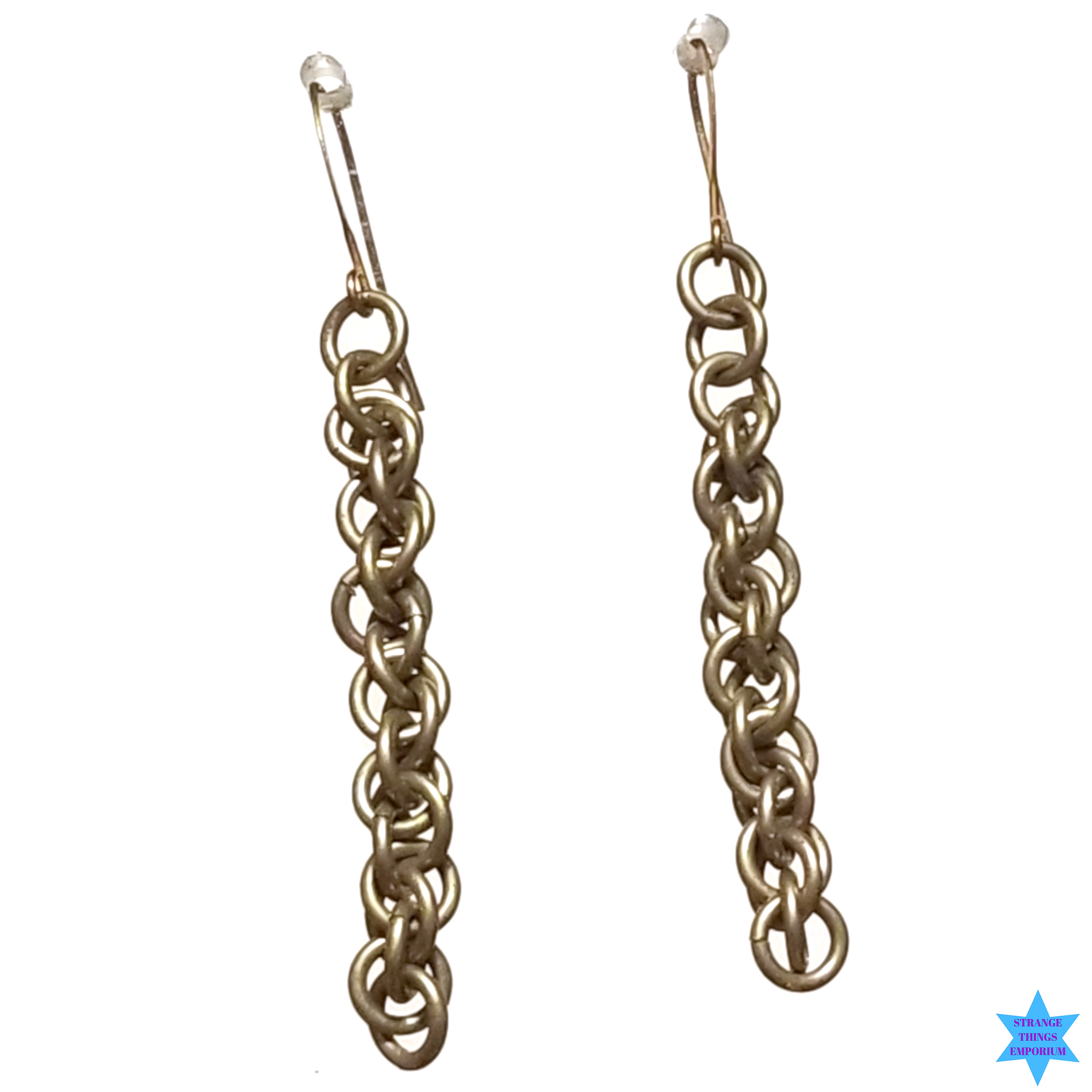Dropping Links Earrings - Strange Things Emporium