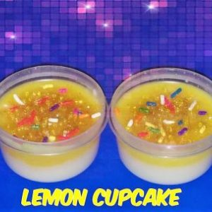 Lemon Cupcake Wax Melts - Strange Things Emporium