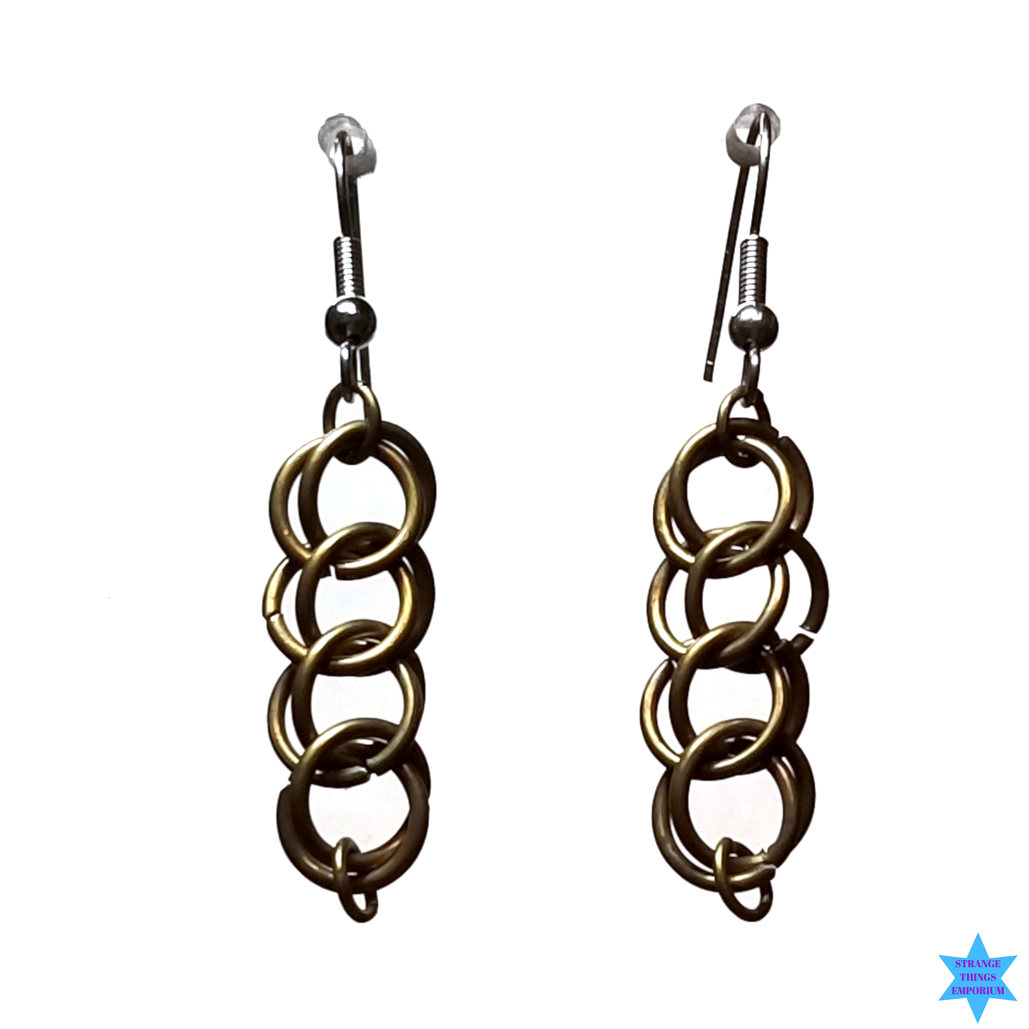 The Loop Braid Earrings - Strange Things Emporium