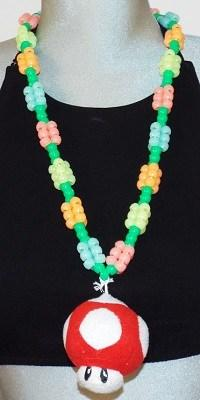 Bead Character Necklace - Strange Things Emporium