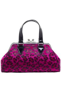 Temptress Pink Leopard Print Purse - Strange Things Emporium