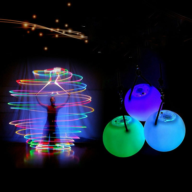 LED Glow Poi set - Strange Things Emporium