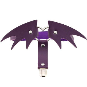 Bat Wing Leg Garter - Strange Things Emporium