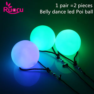 LED Glow Poi 2pc - Strange Things Emporium