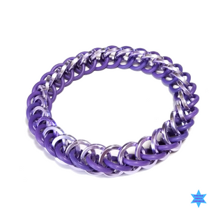 Stretch Chain Mail Bracelet - Strange Things Emporium