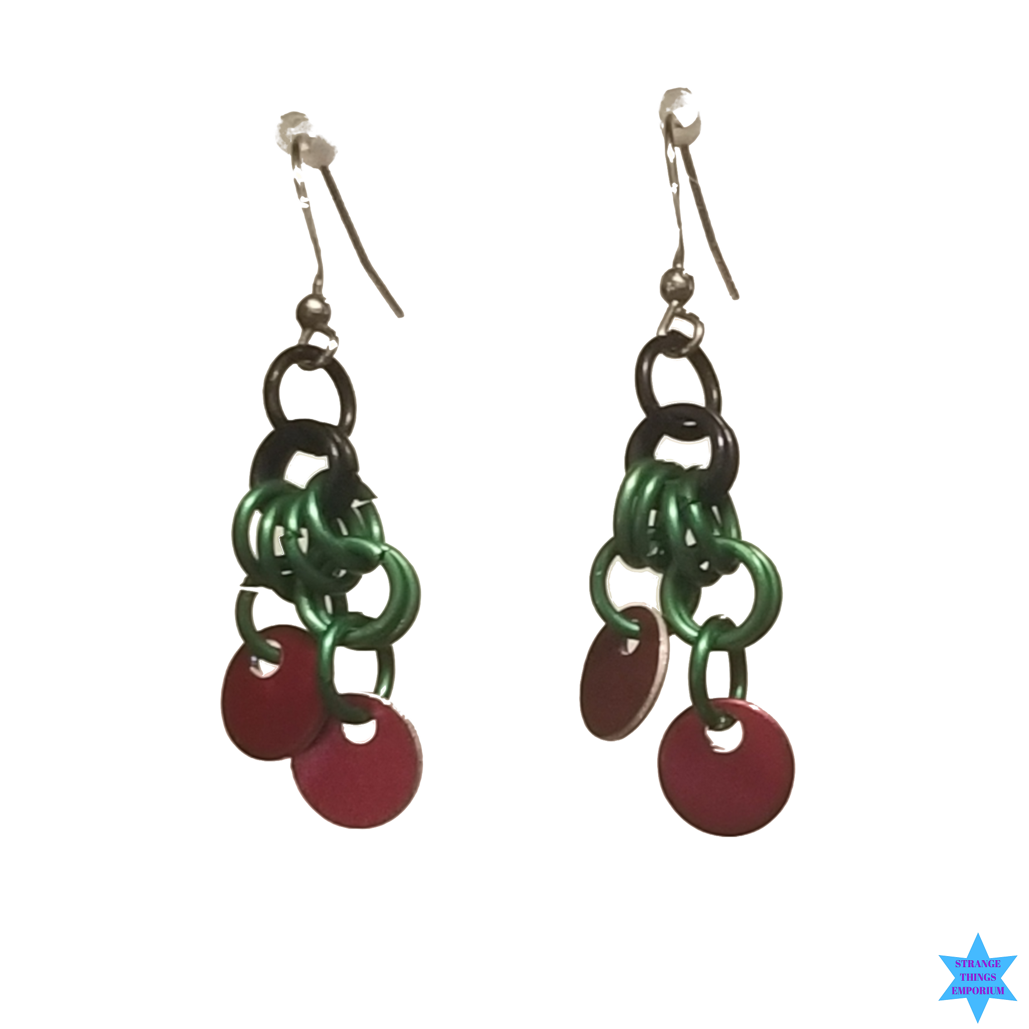 Spotted Scales Earrings - Strange Things Emporium