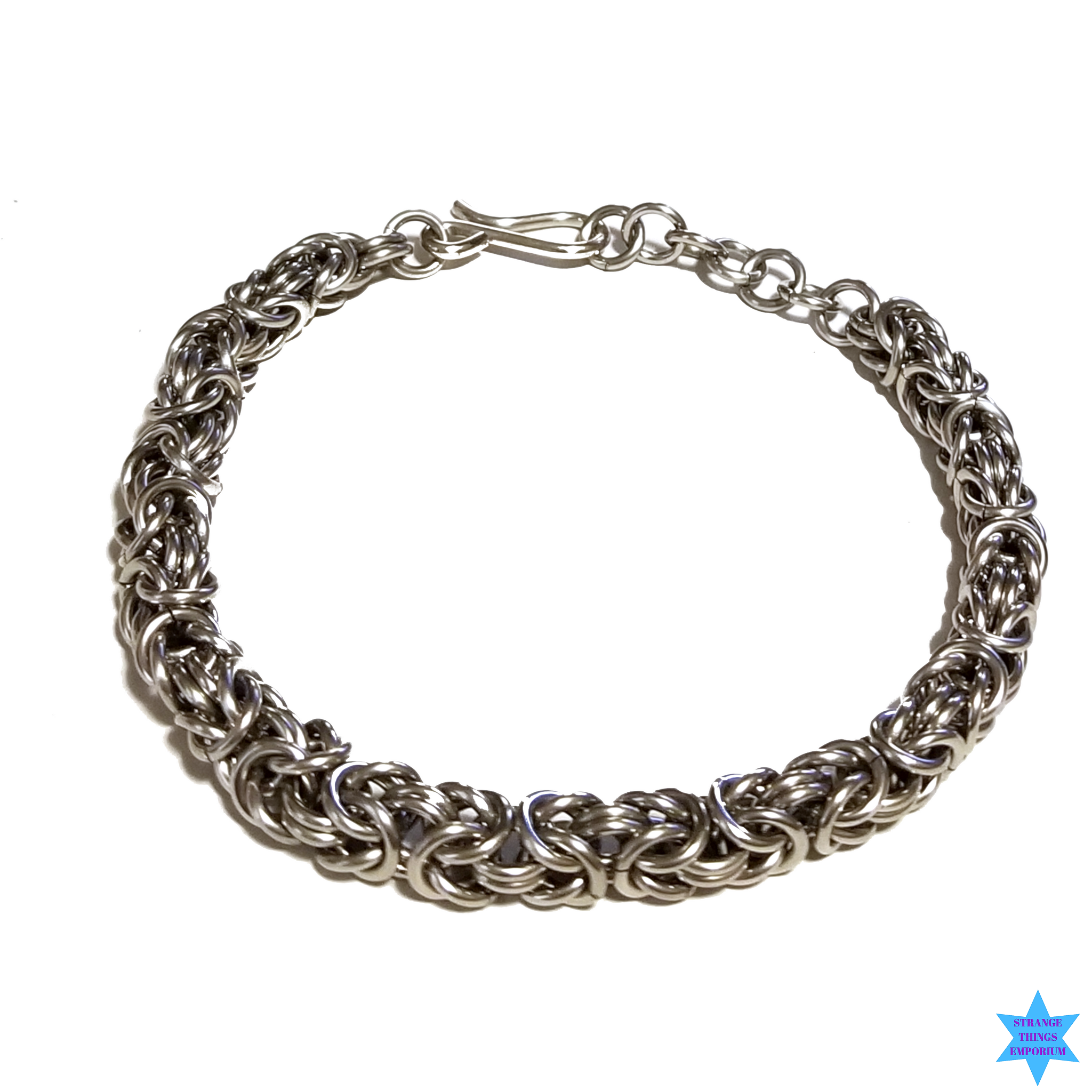 Steel Loop Bracelet - Strange Things Emporium