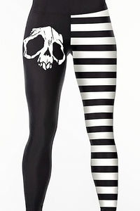 Skull Half Tights - Strange Things Emporium