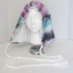 Yarn Tassel Hood - Strange Things Emporium