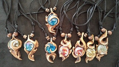 Tribal Flame Philippines Necklaces - Strange Things Emporium
