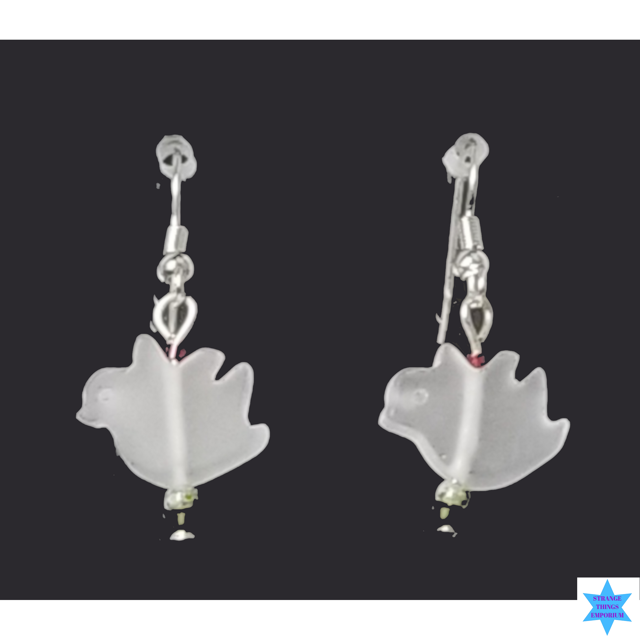 Twitter Bird Earrings - Strange Things Emporium