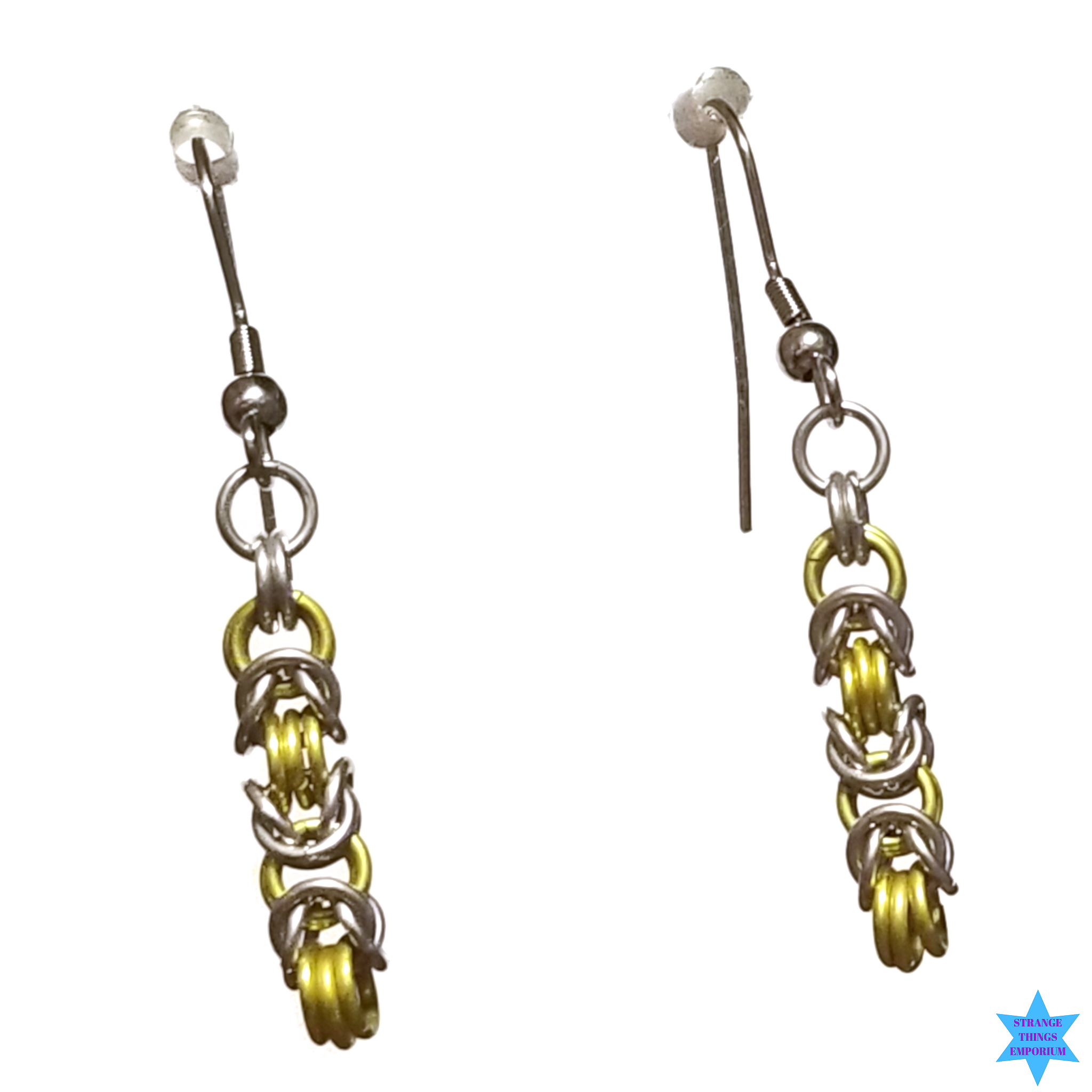 Chainism Earrings - Strange Things Emporium