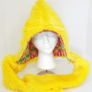 Yellow Kaleidoscope Hood - Strange Things Emporium