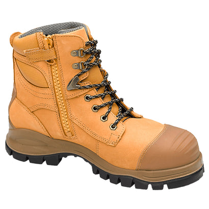 Blundstone Style 992 - Unisex Lace-up Zip Steel Cap Safety Boot