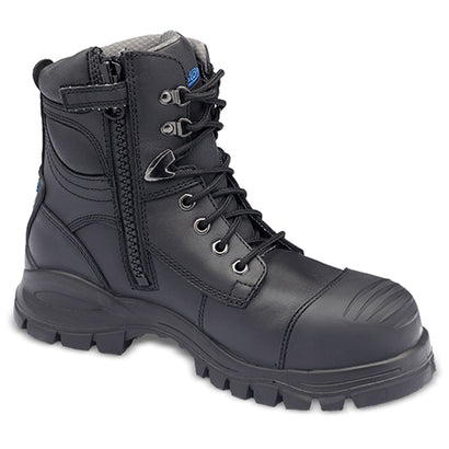 Blundstone Style 997 - Unisex Lace-up Zip Steel Cap Safety Boot