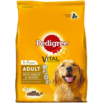 Pedigree Adult with Real Mince & Vegies