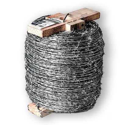 Heavy Galvanised High Tensile Barbed Wire