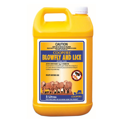 Coopers Blowfly And Lice Jetting Fluid