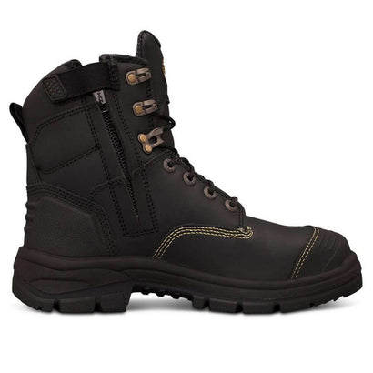 55-345Z 150MM BLACK ZIP SIDED BOOT