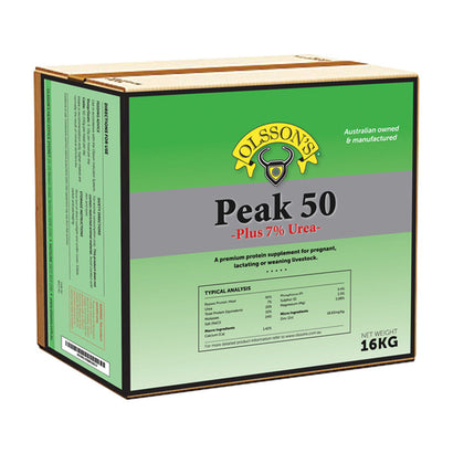 Peak 50 (plus 7% Urea)