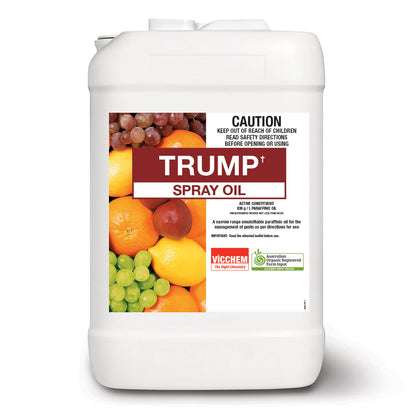 Trump Spray Oil