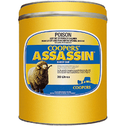 Assassin Sheep Dip
