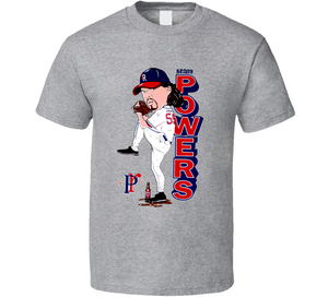 Kenny Powers Retro Base ball Caricature Eastbound And Down Show T Shirt - Blazintees.com