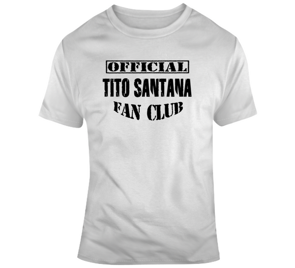 Tito Santana Official Fan Club Wrestling T Shirt - Blazintees.com
