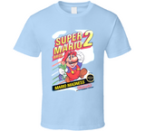 Super Mario Bros 2 NES Nintendo Retro Video Game T Shirt - Blazintees.com