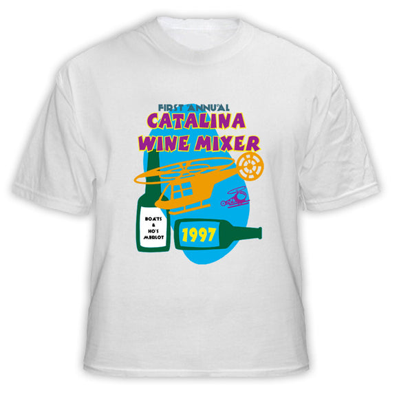 Catalina First Annual Wine Mixer Step Brothers Movie T Shirt - Blazintees.com