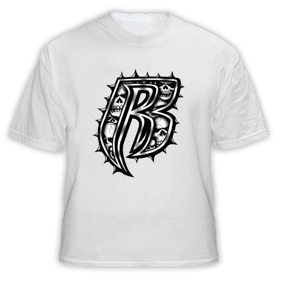 Ruff Ryders Skull Hip Hop Rap T Shirt - Blazintees.com