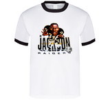 Bo Jackson Retro Los Angeles Football Caricature T Shirt - Blazintees.com