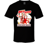 Michael Jordan Chicago Fever Chicago Basketball Caricature T Shirt - Blazintees.com