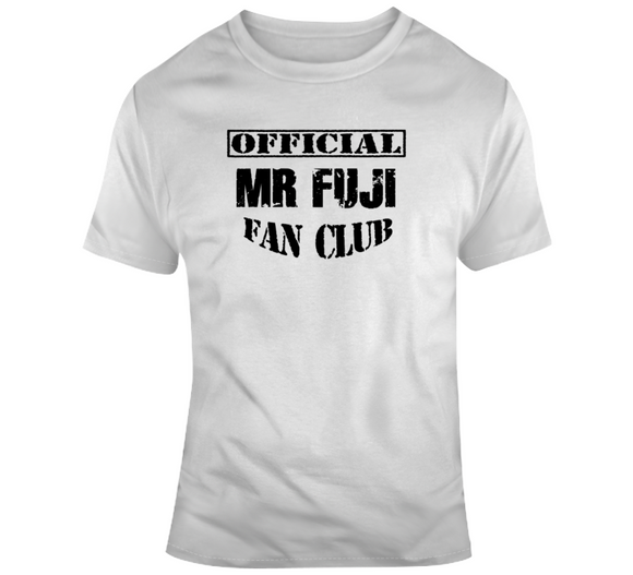 Mr Fuji Official Fan Club Wrestling T Shirt - Blazintees.com