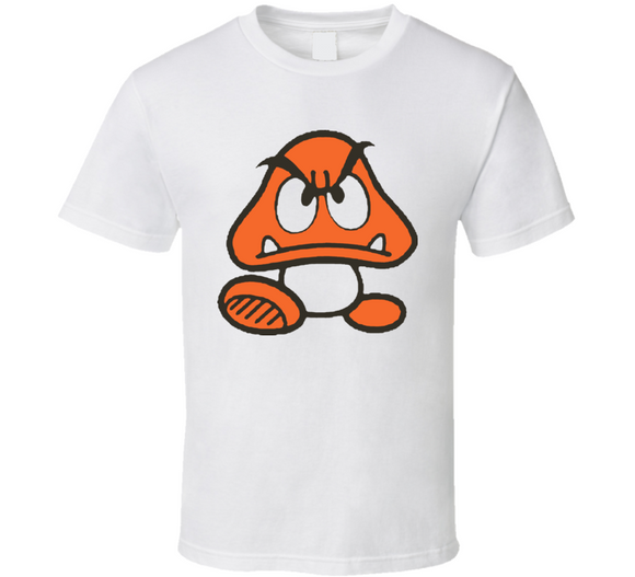 Goomba Super Mario Bros Nintendo Retro Video Game T Shirt - Blazintees.com