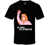 King Slender Pro Wrestling NES Nintendo Retro Video Game T Shirt - Blazintees.com