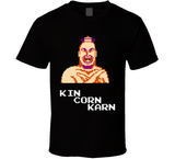 Kin Corn Karn Pro Wrestling NES Nintendo Retro Video Game T Shirt - Blazintees.com