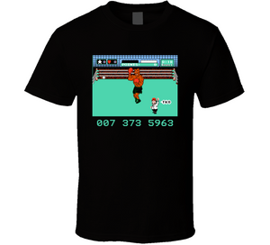 Mike Tysons Punch Out NES Nintendo Retro Video Game T Shirt - Blazintees.com