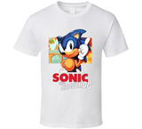 Sonic The Hedgehog Super Hero Retro Video Game T Shirt - Blazintees.com
