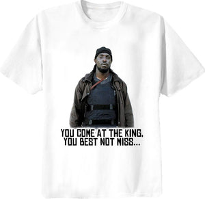 The Wire Omar Little You Come At The King The Wire Show T Shirt - Blazintees.com