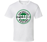 WHA New England Whalers 1972 Retro Hockey T Shirt - Blazintees.com