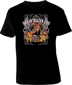 David Allen Coe Country Music T Shirt - Blazintees.com