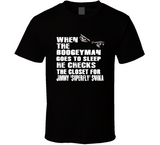 Jimmy Superfly Snuka Boogeyman Checks Closet Retro Wrestling T Shirt - Blazintees.com