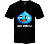 Dragon Quest Slime Draws Near Retro Video Game T Shirt - Blazintees.com