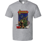 Castlevania NES Classic Retro Video Game T Shirt - Blazintees.com