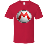 Super Mario Bros Mario Logo Nintendo Retro Video Game T Shirt - Blazintees.com