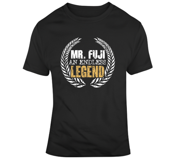 Mr Fuji An Endless Legend Retro Wrestling T Shirt - Blazintees.com