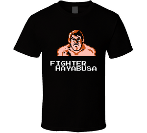 Fighter Hayabusa Pro Wrestling NES Nintendo Retro Video Game T Shirt - Blazintees.com