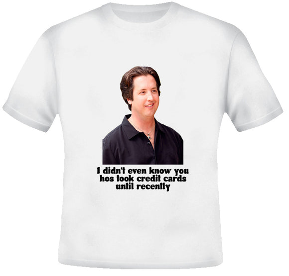 Stevie Janowski Credit Card Quote Eastbound and Down Show T Shirt - Blazintees.com